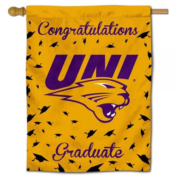 UNI Panthers Graduation Banner