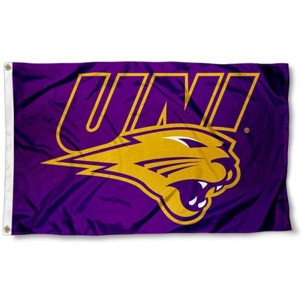 UNI Panthers Logo Flag