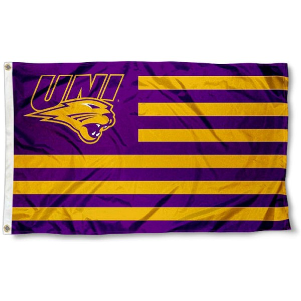 UNI Panthers Nation Flag