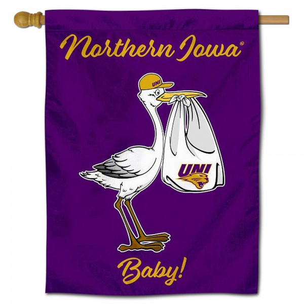 UNI Panthers New Baby Banner