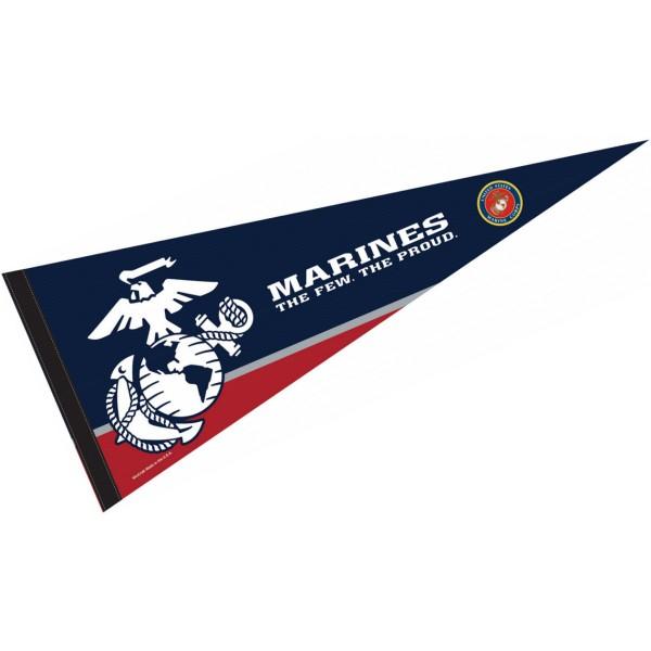 United State Marines Insignia Logo Pennant