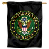 United States Army Seal Logo Banner Flag