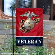 United States Marines Veteran Garden Banner