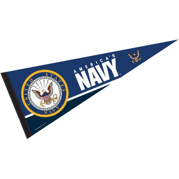 United States Navy Insignia Logo Pennant