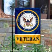 United States Navy Veteran Garden Banner