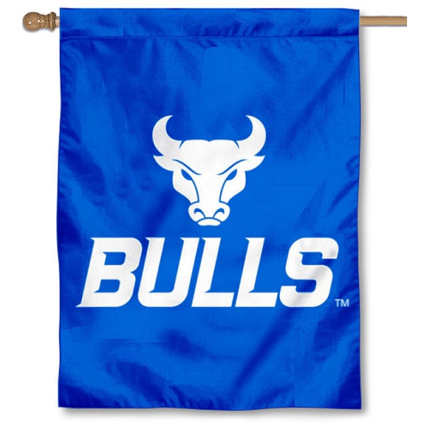 University at Buffalo Logo House Flag