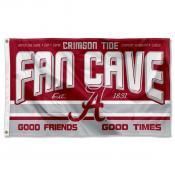 University of Alabama Crimson Tide Man Cave Dorm Room 3x5 Banner Flag