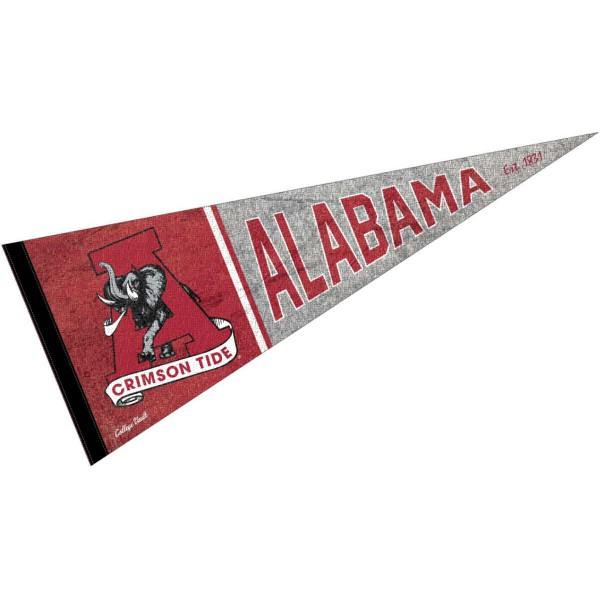 University of Alabama Crimson Tide Pennant