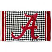 University of Alabama Houndstooth Pattern Flag