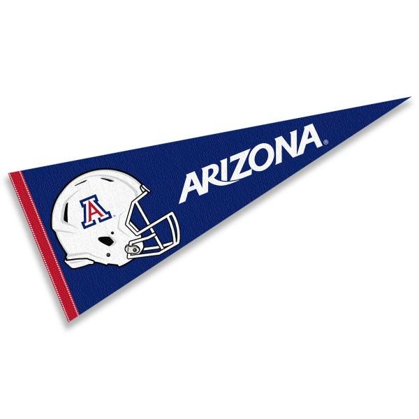 University of Arizona Football Helmet Pennant