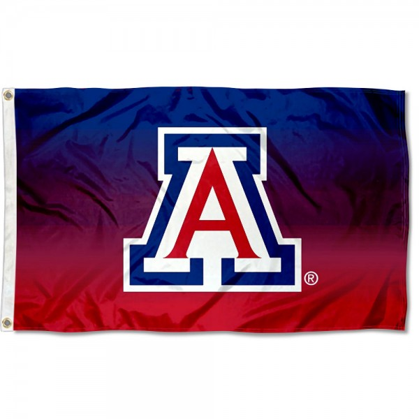 University of Arizona Two Tone Color Flag