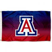 University of Arizona Two Tone Color Flag