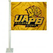 University of Arkansas at Pine Bluff Car Flag