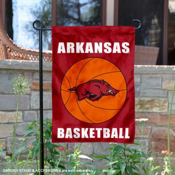 University of Arkansas Basketball Garden Flag