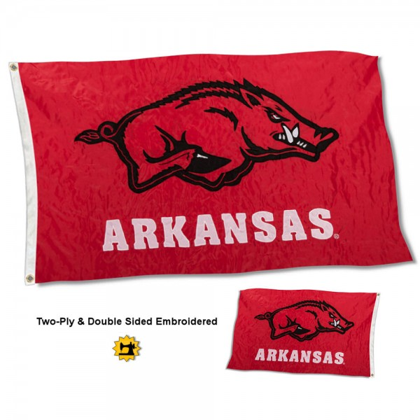 University of Arkansas Flag - Stadium
