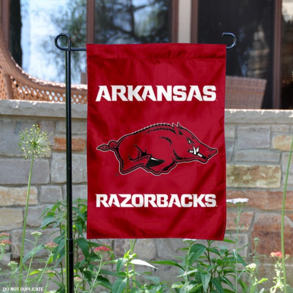University of Arkansas New Logo Garden Flag