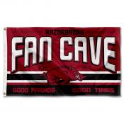 University of Arkansas Razorbacks Man Cave Dorm Room 3x5 Banner Flag