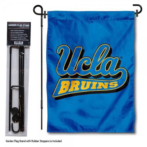 University of California Los Angeles Garden Flag and Yard Pole Holder Set