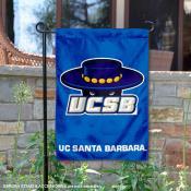 University of California Santa Barbara Garden Flag