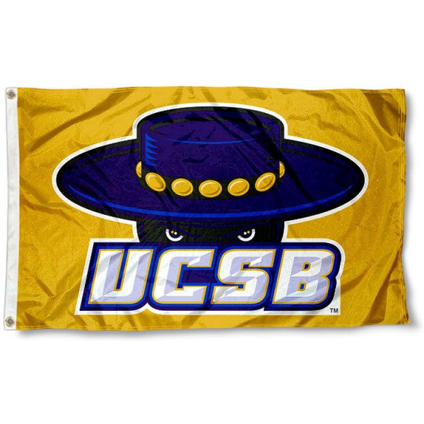 University of California Santa Barbara Gold Flag