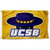 University of California Santa Barbara Gold Flag
