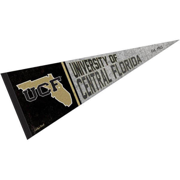 University of Central Florida Knights Pennant