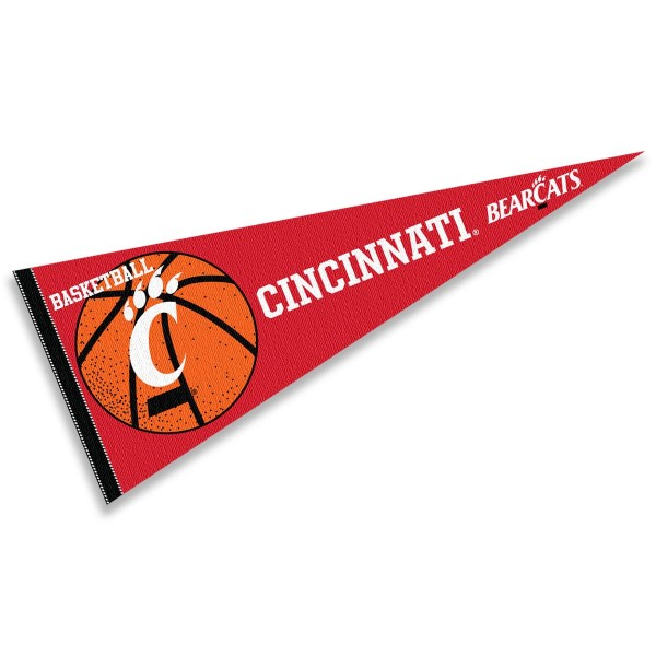 University of Cincinnati Bearcats Basketball Pennant