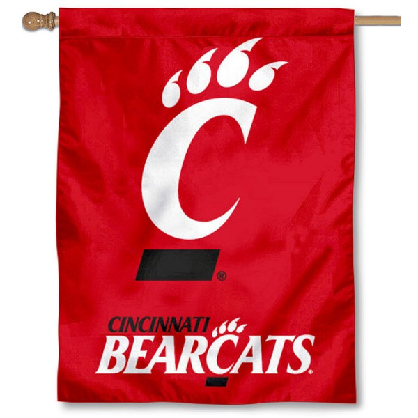 University of Cincinnati Bearcats House Flag