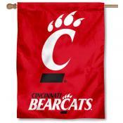 University of Cincinnati Bearcats House Flag