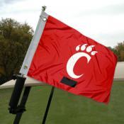 University of Cincinnati Golf Cart Flag