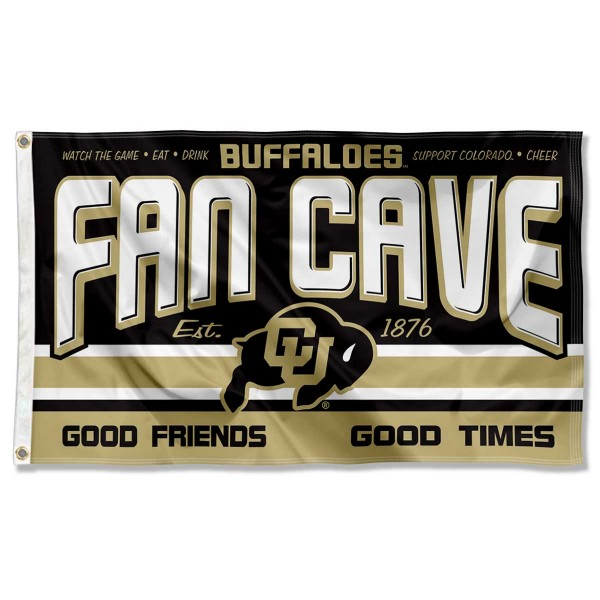 University of Colorado Buffaloes Man Cave Dorm Room 3x5 Banner Flag