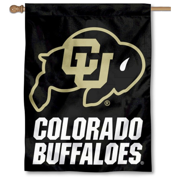 University of Colorado Logo House Flag