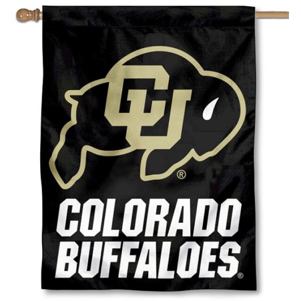 University of Colorado Logo House Flag