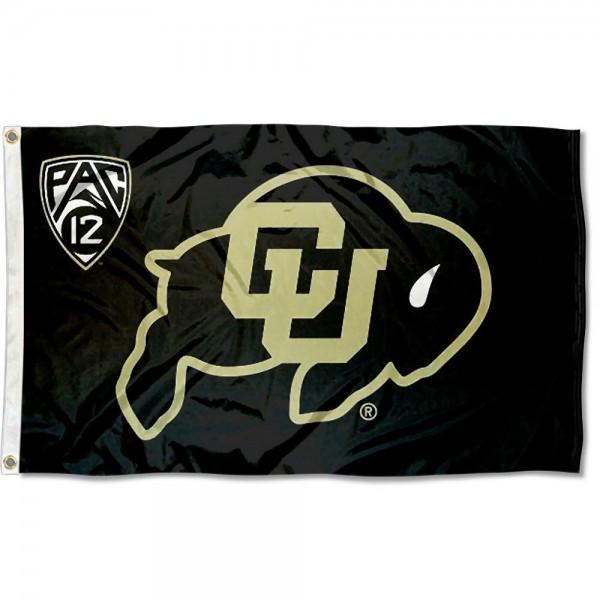 University of Colorado Pac 12 Flag