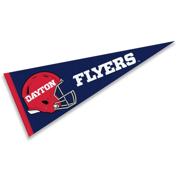 University of Dayton Football Helmet Pennant