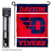 University of Dayton Garden Flag and Yard Pole Holder Set
