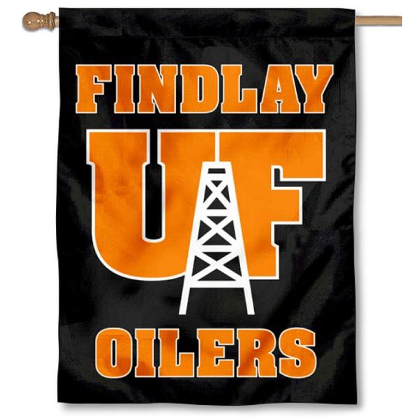 University of Findlay New Logo House Flag