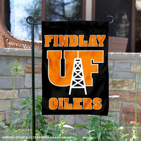 University of Findlay Oilers Logo Garden Banner