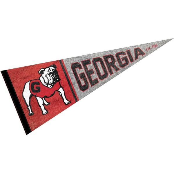 University of Georgia Bulldogs Pennant