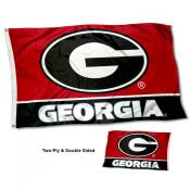 University of Georgia G Two Sided 3x5 Foot Flag