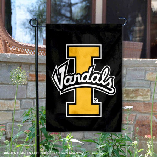 University of Idaho New Logo Double Sided Garden Flag