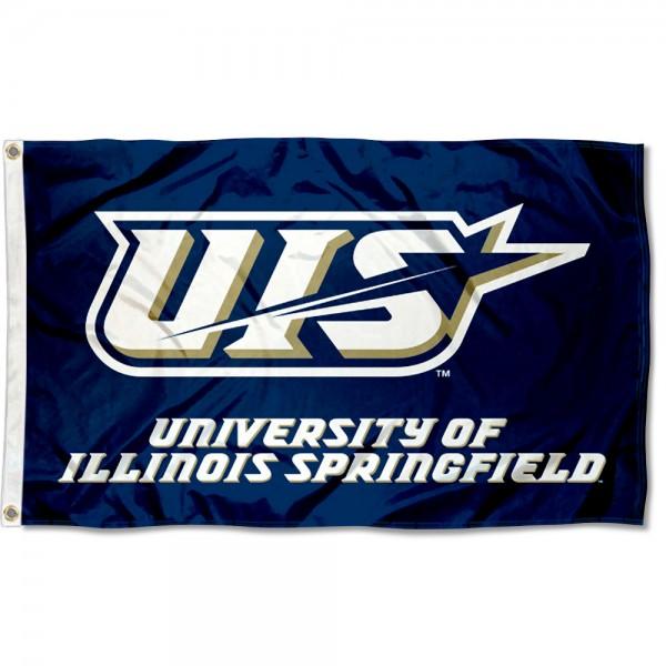 University of Illinois Springfield Flag