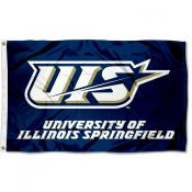 University of Illinois Springfield Flag