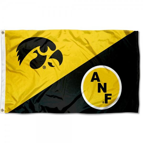 University of Iowa America Needs Farmers Flag