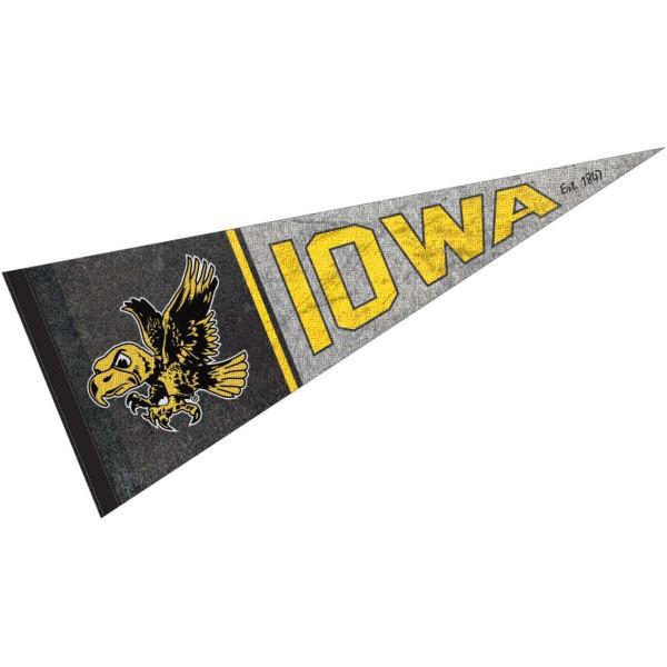 University of Iowa Hawkeyes Pennant