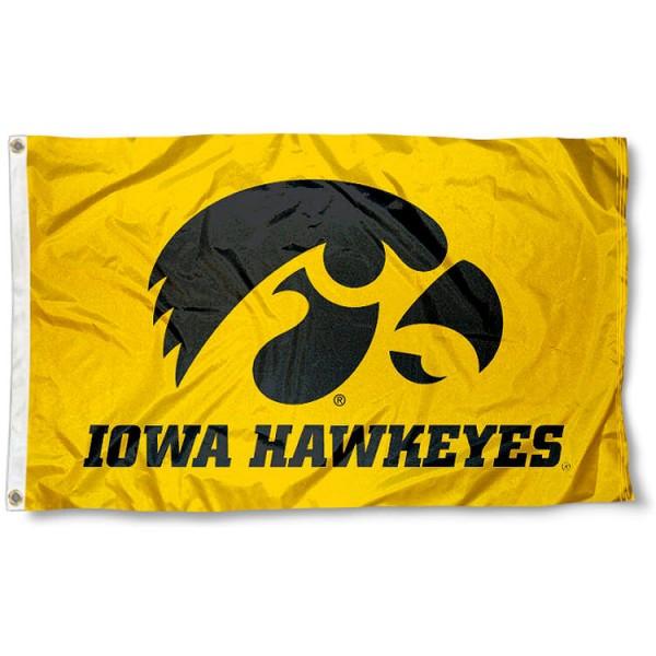 University of Iowa Yellow Flag
