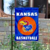 University of Kansas Basketball Garden Flag