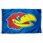 University of Kansas Big Jay Flag