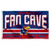 University of Kansas Jayhawks Man Cave Dorm Room 3x5 Banner Flag