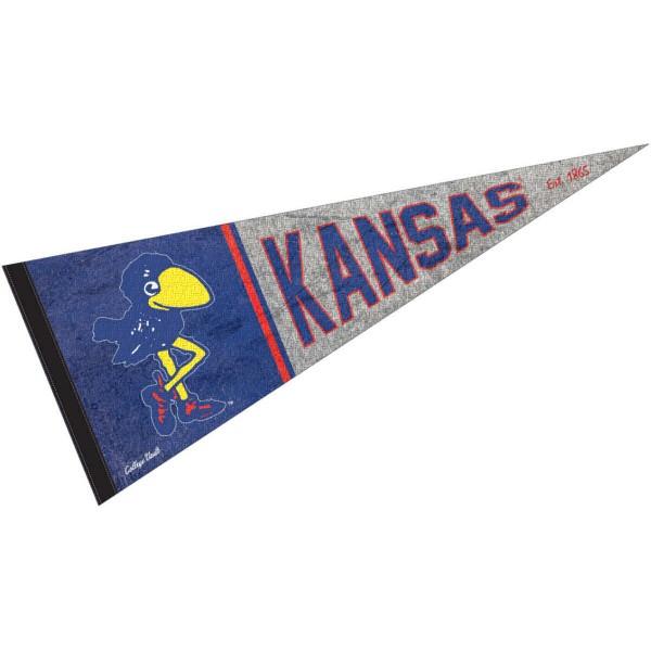 University of Kansas Jayhawks Pennant